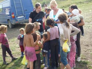 Margariet, the Co-Director of Pro Rroma, was hugely helpful in guiding us around the dump and introducing us to the children and families living there.