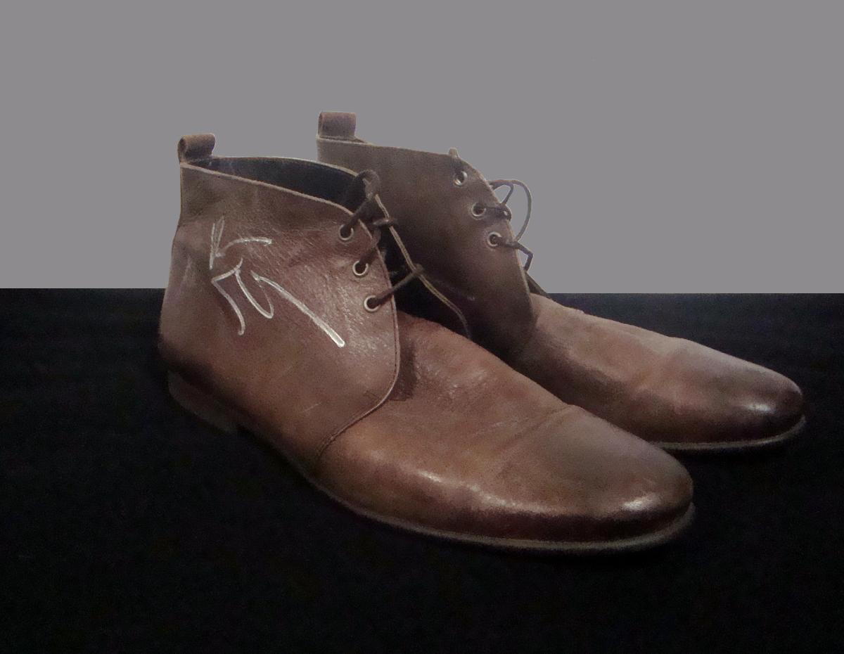 Ben Stiller's signed 2013 shoes