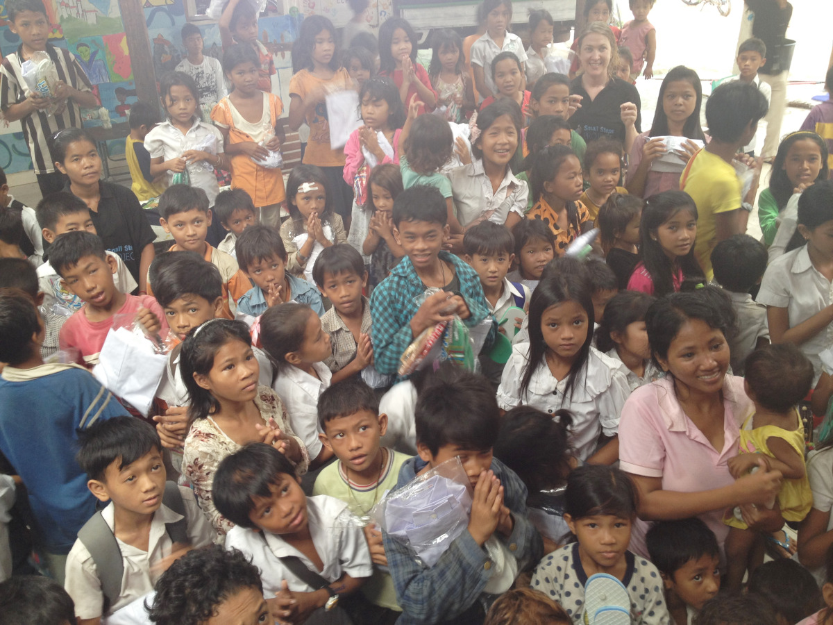 Cambodian Children's Painting Project