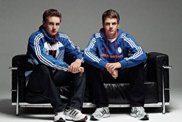 Jonathan & Alistair Brownlee Team GB